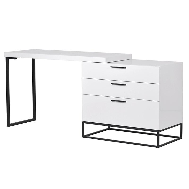 White Gloss Dressing Table Desk Wbr Interiors